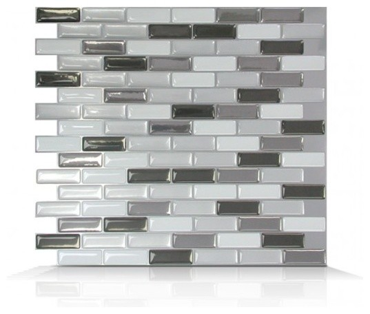 Murano Metalik Peel and Stick Wall Tile traditional tile  Murano Metalik  Peel and Stick Wall. Stick it Wall Tiles