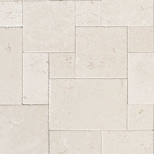 Limestone Tile French Pattern Flooring Shell Reef Patio