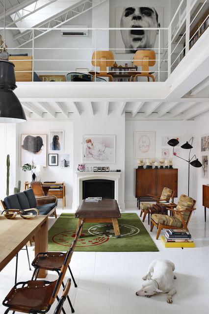 The Madrid Home of David Delfin and Gorka Postigo Yatzer | Apartment Therapy San modern