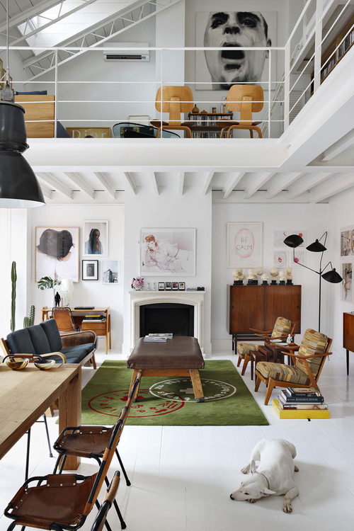 The Madrid Home of David Delfin and Gorka Postigo Yatzer | Apartment Therapy San modern living room