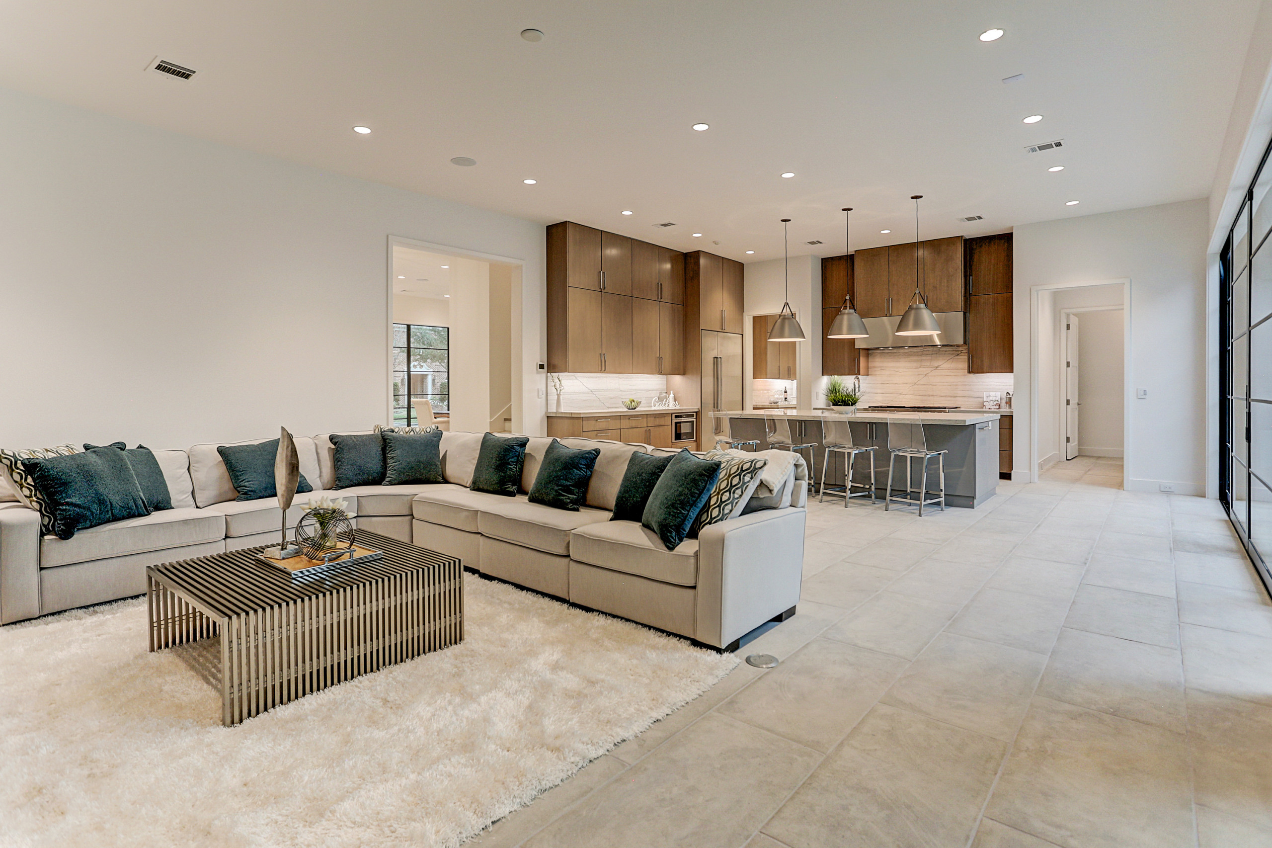 Transitional New Home