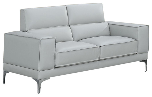 Swell Global Furniture Usa Light Gray Loveseat Gmtry Best Dining Table And Chair Ideas Images Gmtryco
