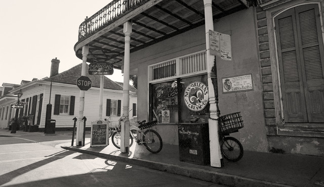 Matassas Deli French Quarter New Orleans LA Fine Art Black and White Photography