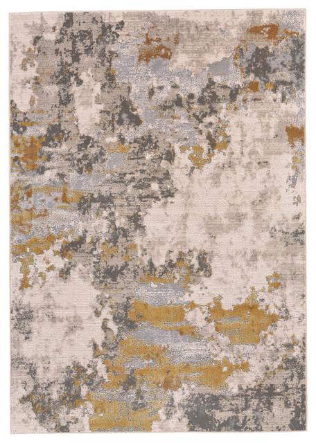 Vanhorn Rug, Gold And Birch, 8&x27;x11&x27;. -1