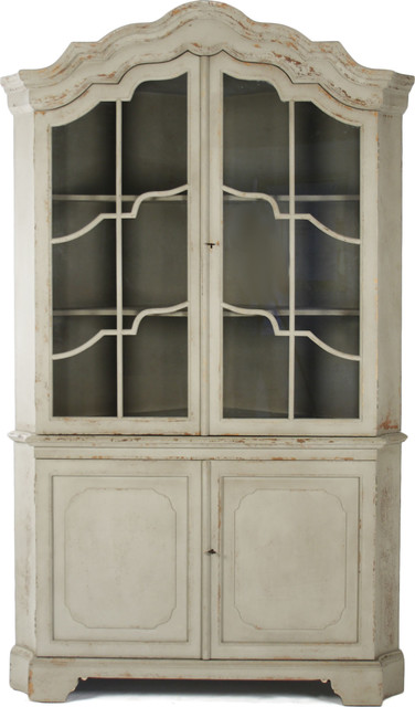 Dennis Corner Cabinet Farmhouse China Cabinets And Hutches By Bliss Home Design