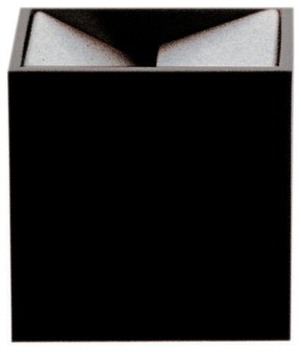 Cubo Table Ashtray, Black