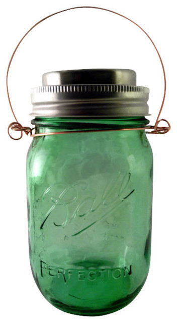 Jarringcreations Ball Mason Jar Hanging Solar Light