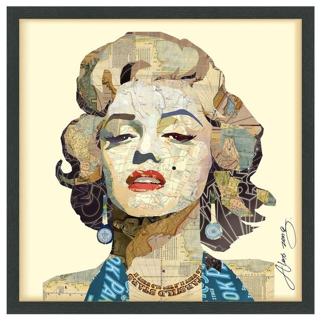 Homage To Marilyn Fine Art Print.