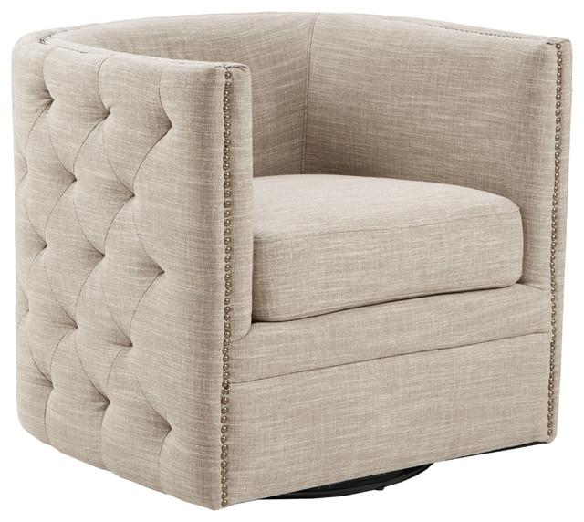 Madison Park Capstone Swivel Chair Transitional