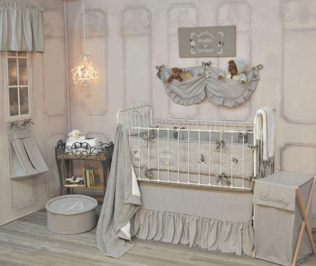 Boy Girl Twins Nursery Traditional Baby Bedding New