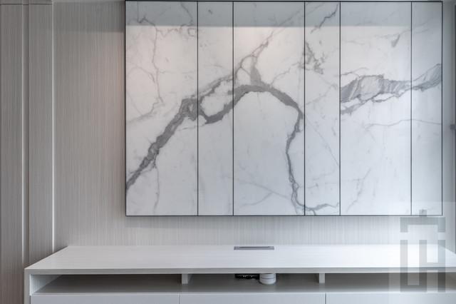 Inspiration for a modern home design remodel in Hong Kong