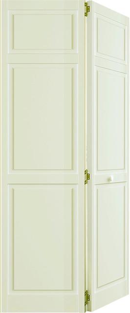 Bi Fold Closet Door Traditional 6 Panel White 1 X24