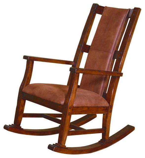 ... Sunny Designs, Inc. Rocker With Cushion Seat and Back - Rocking Chairs