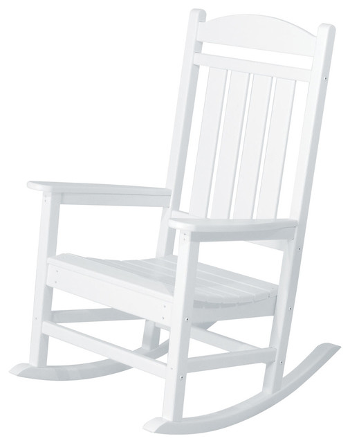Presidential Rocker, White.