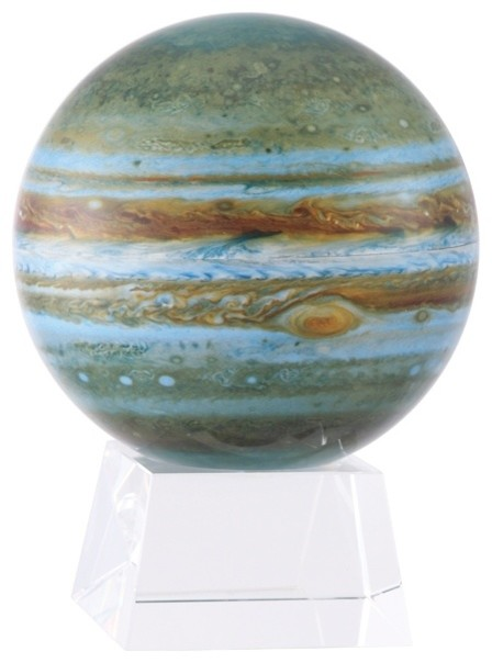 "MOVA 6"" Jupiter Revolving Globe With Medium Crystal Base"