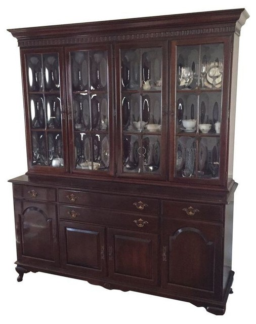 Ethan Allen China Cabinet - Modern - Storage Cabinets - by ...