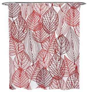 Autumn Doodle Shower Curtain