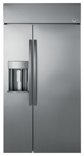 Built, Counter Depth Side By Side Refrigerator.