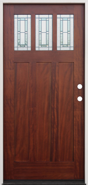 Exterior pre gung prefinished door mahogany front doors - Prefinished mahogany interior doors ...