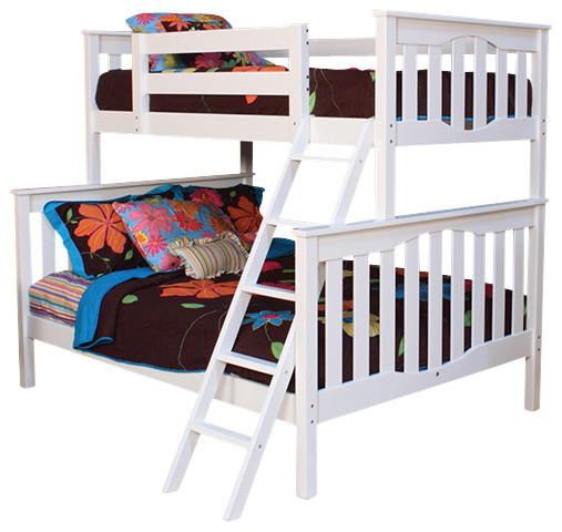 Seneca Twin Over Full Bunkbed Contemporary Bunk Beds By Epoch