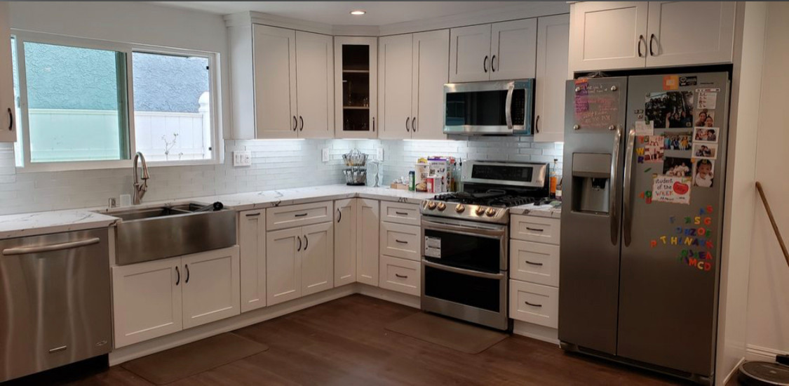 Kitchen remodeling in Valley Village