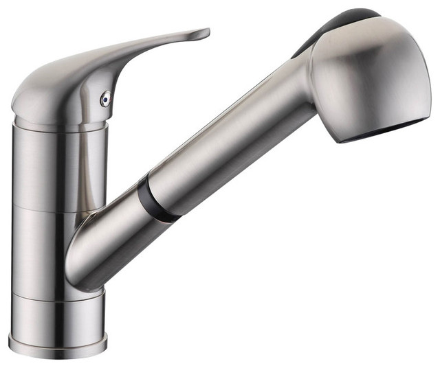 Dowell Single Handle Pull-Out Kitchen Faucet.