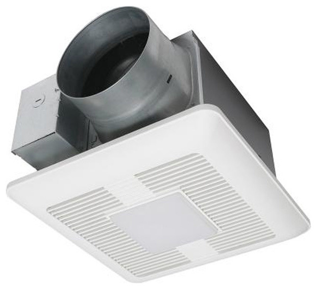 ca8fac13069 Panasonic 110-130-150 CFM Ceiling Mount LED Lit Exhaust Fan