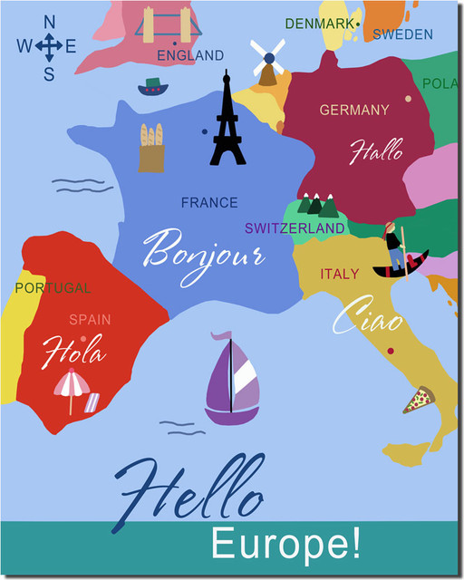 Hello Europe artwork