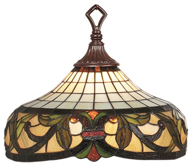Harmony Stained Glass Shade Pendant