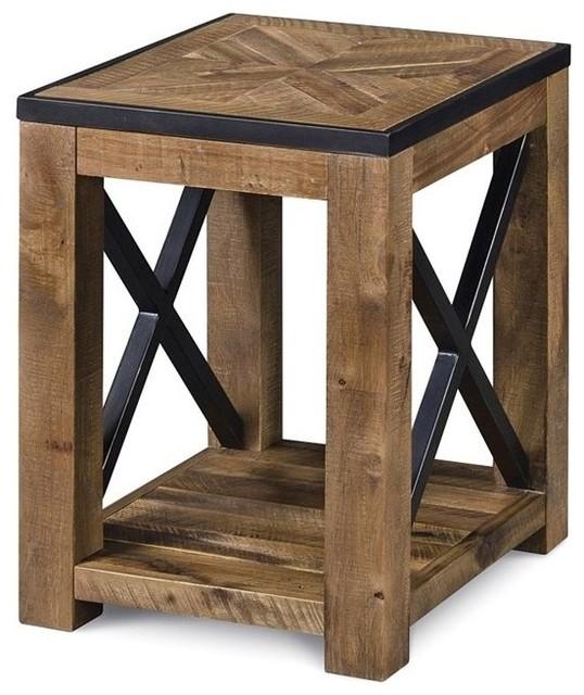 Penderton Wood Chairside End Table.