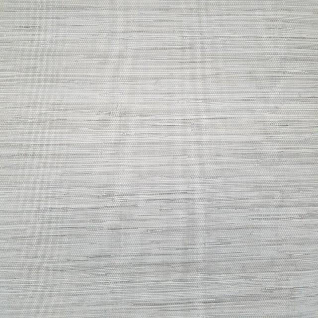 Modern Wallpaper Sage Green Metallic Faux Grasscloth: Contemporary Gray Faux Grasscloth Wallpaper