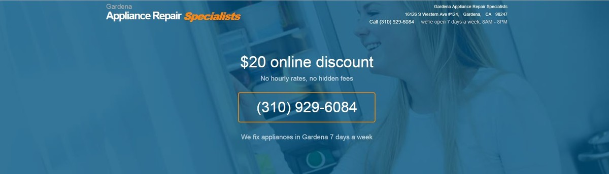 Gardena Appliance Repair Specialists   Gardena, CA, US