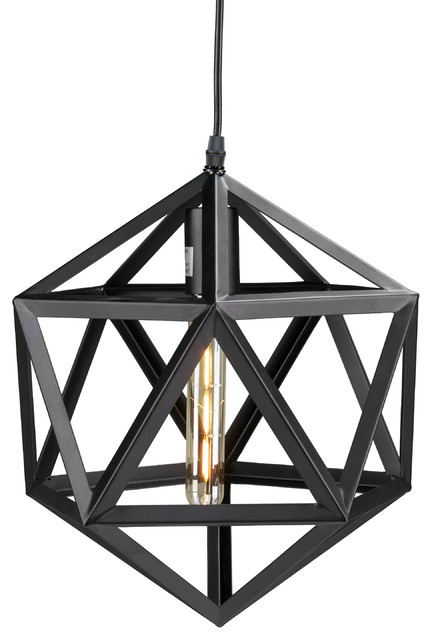 Lecava Geometric Cage Pendant Lamp.