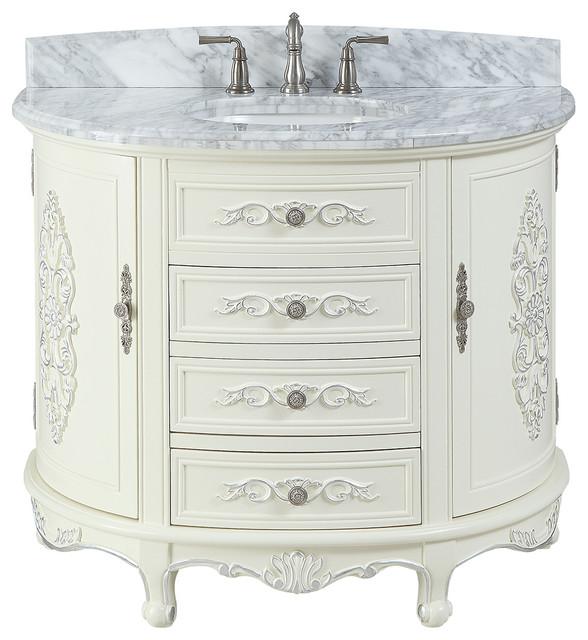 42 Verondia Victorian Beige Bathroom Vanity Victorian Bathroom Vanities And Sink Consoles By Chans Furniture Houzz