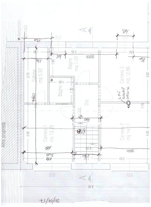 Beautiful camera da letto misure ideas idee arredamento - Camera da letto misure ...