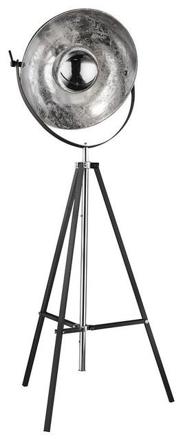 1aa7de935c2f Xirena Floor Lamp, Silver Finish - Industrial - Floor Lamps - by ...
