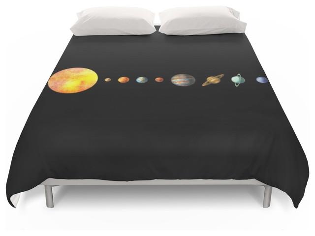 Society6 the solar system duvet cover duvet covers and duvet sets by society6 - Solar system comforter set ...