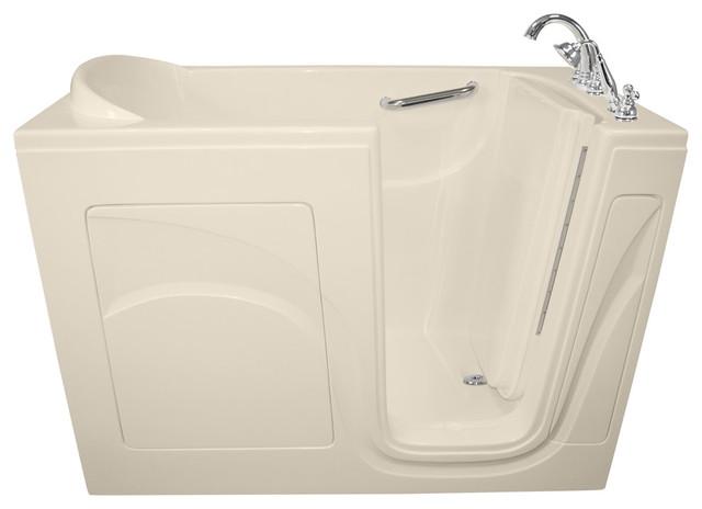 """Biscuit Navigator 54""""x30"""" Soaking Walk-In Bathtub With Right Hand Door."""