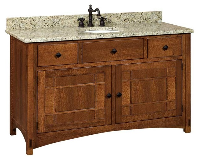 Springhill Bathroom Vanity Craftsman Bathroom Vanities And Sink Consoles By Amish Showroom