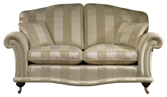 Argyle Love Seat With Soft Fiber Filling, Small.