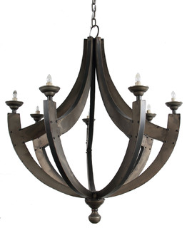 Christie chandelier traditional chandeliers by fantastic decor llc aloadofball Choice Image