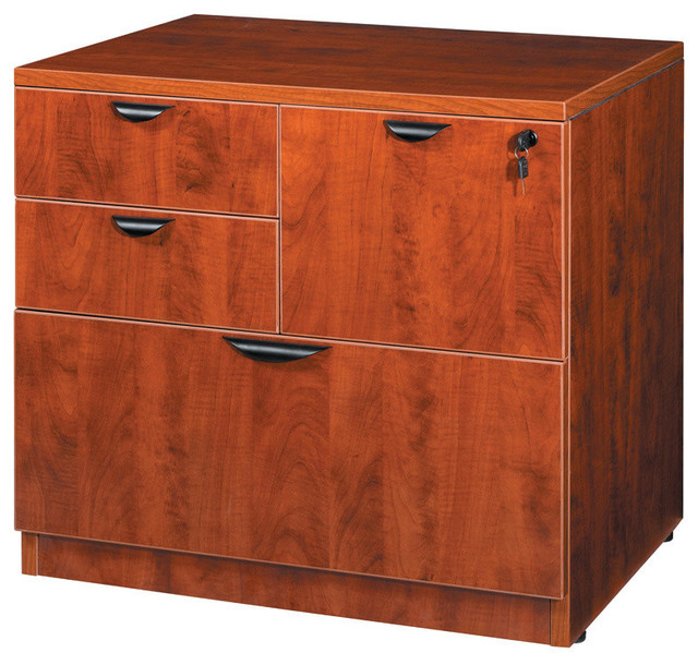 """Boss Combo Lateral File, Cherry 31""""x22""""."""