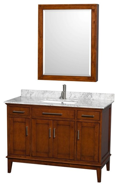 48 in eco friendly wooden vanity with medicine cabinet - Eco friendly bathroom sinks ...