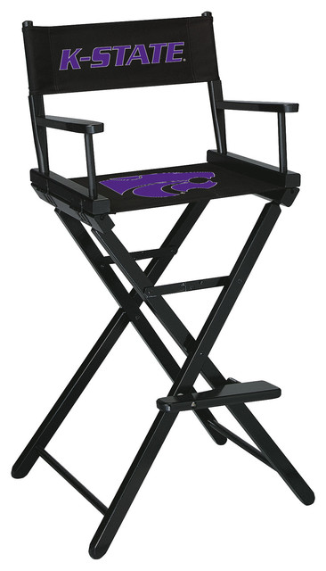 Kansas State University Directors Chair Bar Height Contemporary Folding  Chairs And Stools