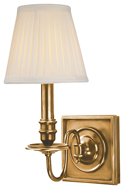 Wall Sconces Transitional : Sheldrake Wall Sconce - Transitional - Wall Sconces - by Lighting New York