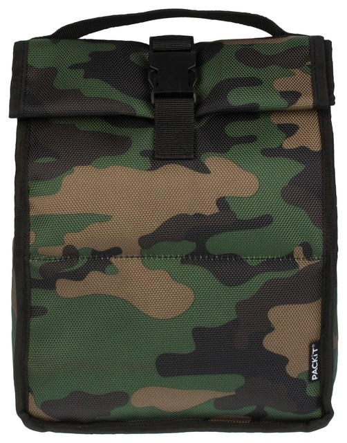 T Roll Top Lunch Bag Camo