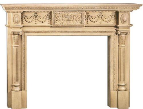 Annapolis Large Fireplace Mantel.