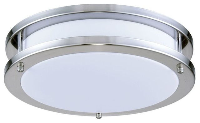 "Elegant Lighting Cf3200 Elitco 1-Light Led Flush Mount Ceiling Fixture, 12""."
