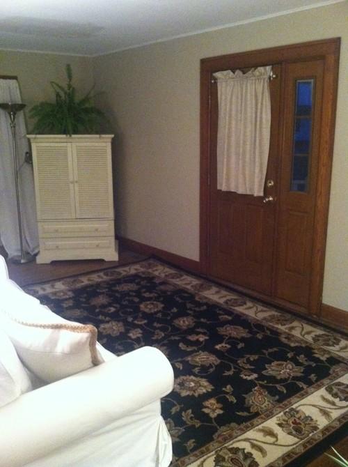 Fabulous Front Door Opens In Middle Of Living Room Splits Room In Half Door Handles Collection Olytizonderlifede