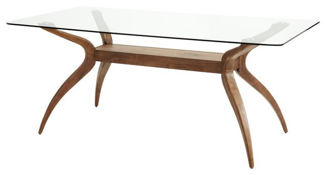 Islington Hevea Wood Dining Table, Rectangle